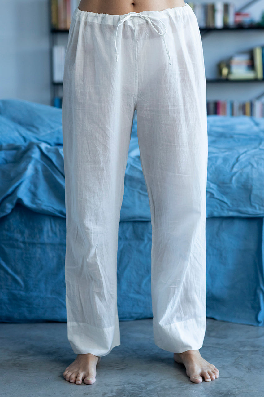 Pyjama pants Chandra Aloe Vera (white)