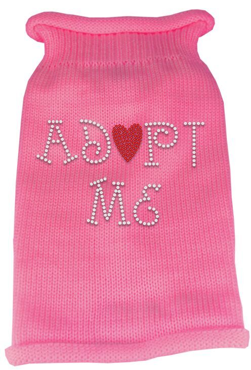 Rhinestone Knit Dog Sweater - Adopt Me