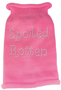 Rhinestone Knit Dog Sweater - Spoiled Rotten