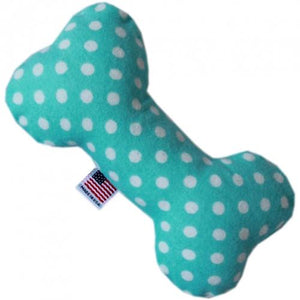Swiss Dot 6 inch Bone Dog Toy