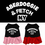 Aberdoggie NY Dog Dress
