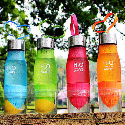 NEW H2O Fruit Infusion Bottle - 650ml
