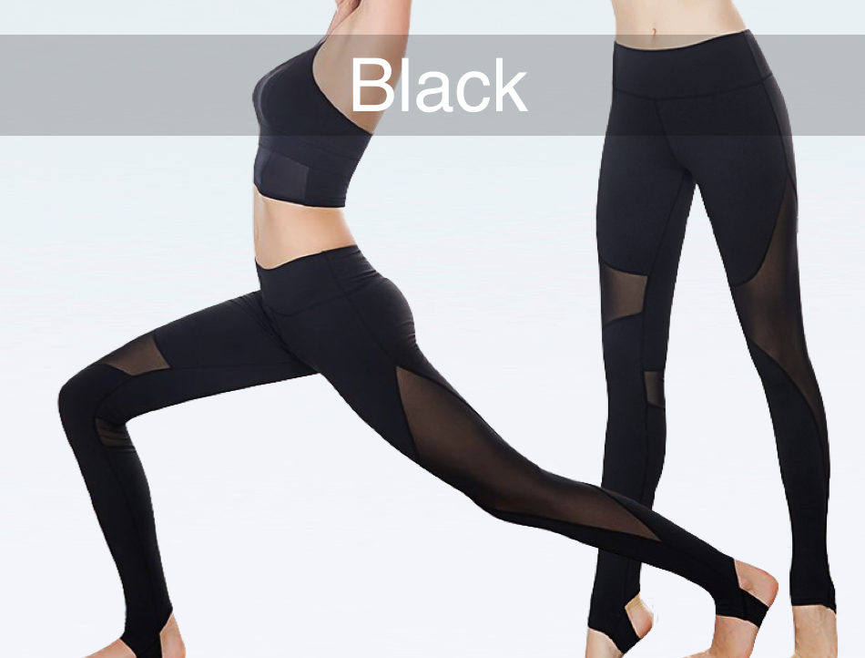 Perfect Mesh Inset Stirrup Leggings – GlobalYogaAcademy IU69