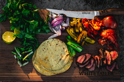 Whitetail Wood Fire Fajitas