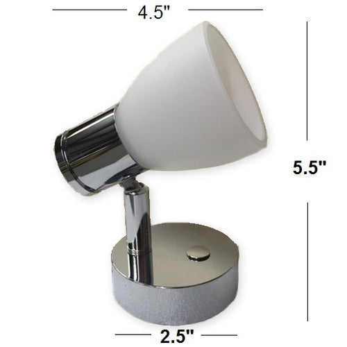 Cabin Reading Light w/Touch Dimming