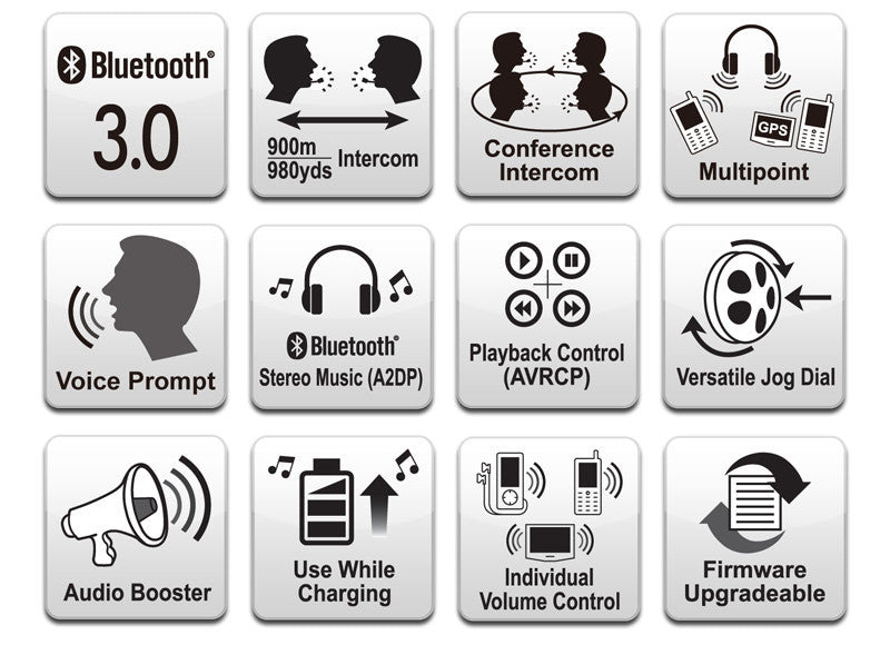 """My Team Talks"" Bluetooth Headsets (Sena SPH10-10)"