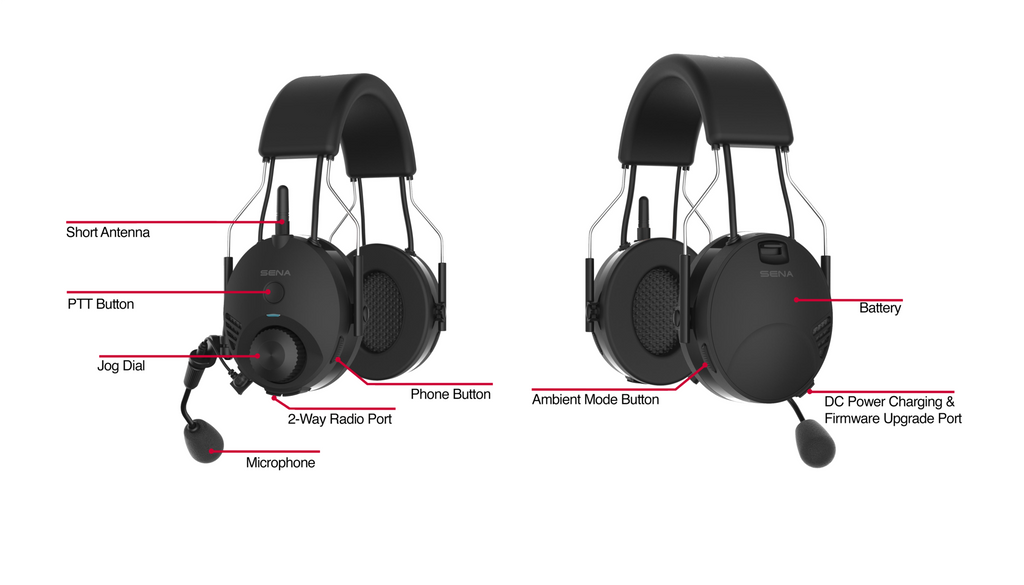 """TuffTalk"" Bluetooth Industrial Headsets"