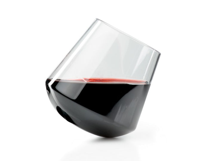 Stemless Poly Red Wine Glass