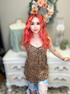 Leopard Print Reversible Cami Top in Choice of Colors
