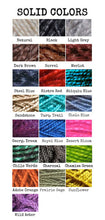 Mohair 17 Strand Cinch - Custom Design