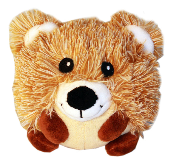 Brown Bear Plush Squeaky Toy