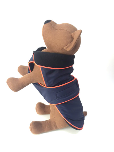Zoomies All-Weather Coat - Navy