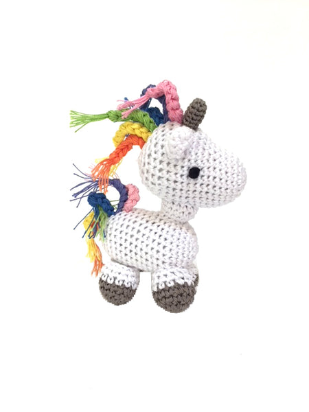 Organic Cotton Unicorn Toy