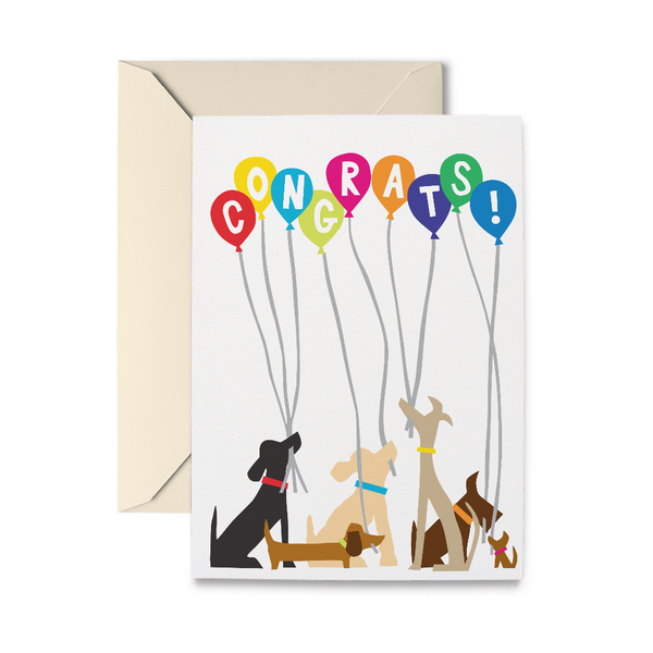 Doggie Congrats Greeting Card
