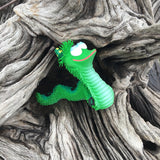 Squeaky Green Snake Toy