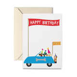 Joyride Birthday Greeting Card