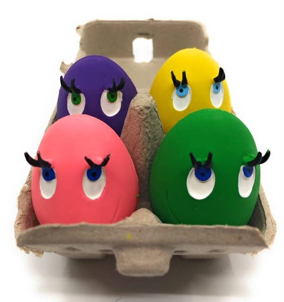 Squeaky Toy Egg Carton Toy