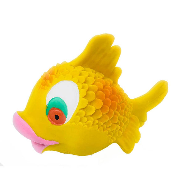 Squeaky Kissy Fish Toy