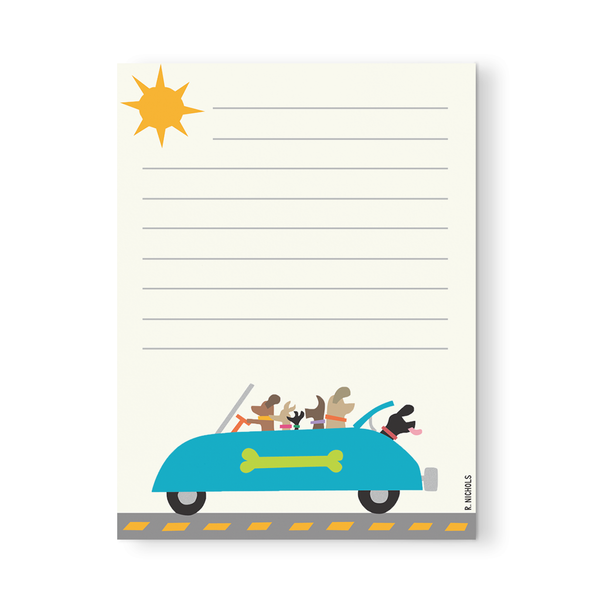 Sunday Drive Notepad