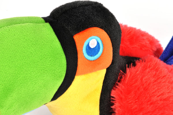 TOUCAN  PLUSH TOY