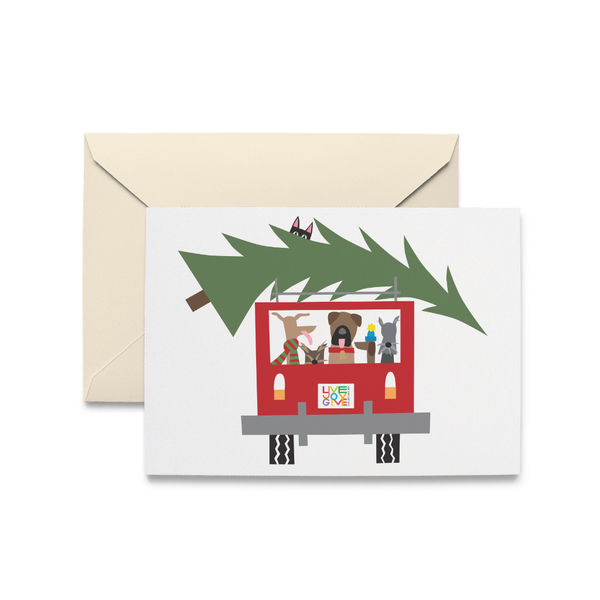 Tree Expedition Holiday Card