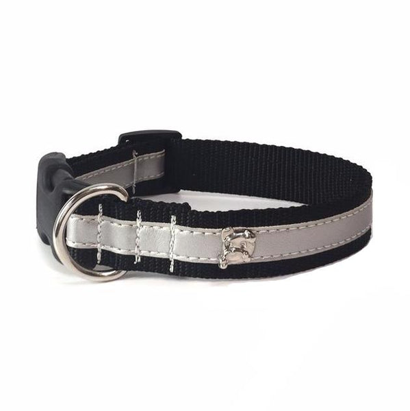 Zoomies City Silver Metallic Collar
