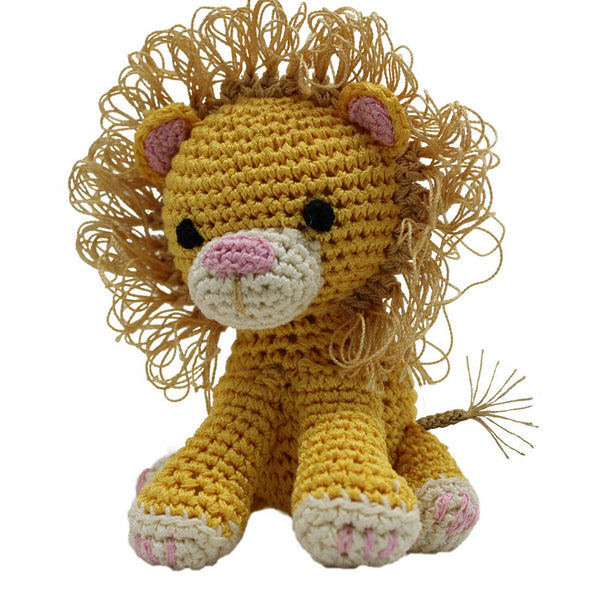 Organic Cotton Lion Toy