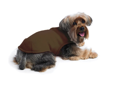 Zoomies Fleece Shell Brown