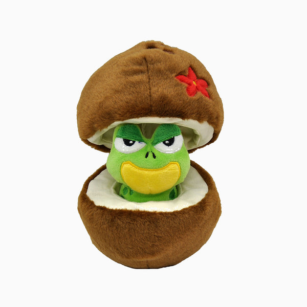 COCONUT & FROG FRIEND TOY