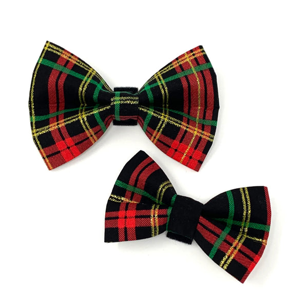 Holiday Sparkle Bow Tie