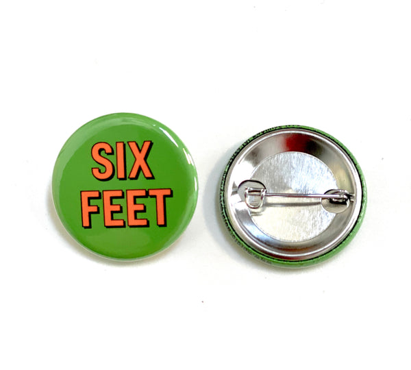 Six Feet Button