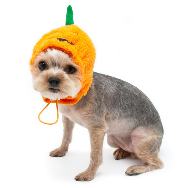 Orange Pumpkin Hat