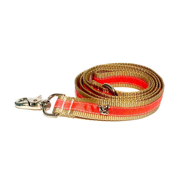 Cabana Orange Leash