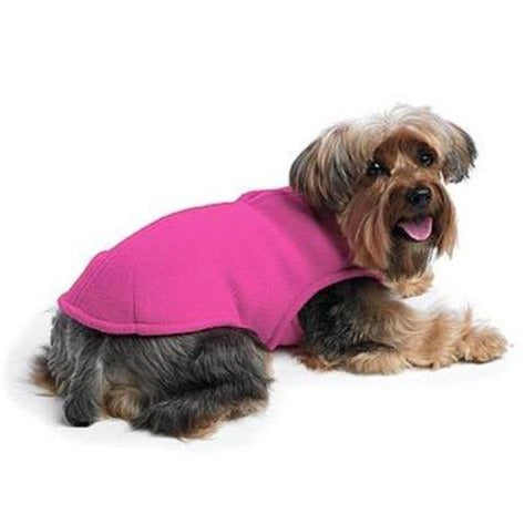 Zoomies Fleece Shell Hot Pink