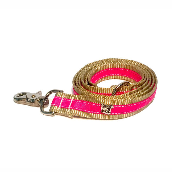 Cabana Hot Pink Leash