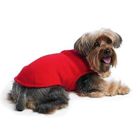 Zoomies Fleece Shell Red