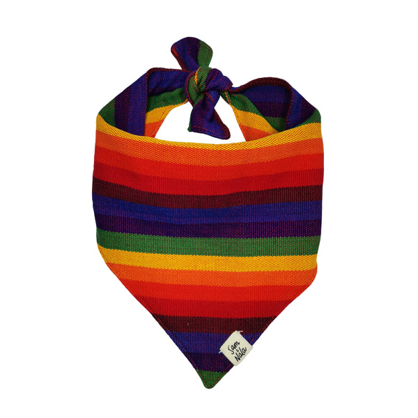 ARTISAN BANDANA - RAINBOW STRIPES