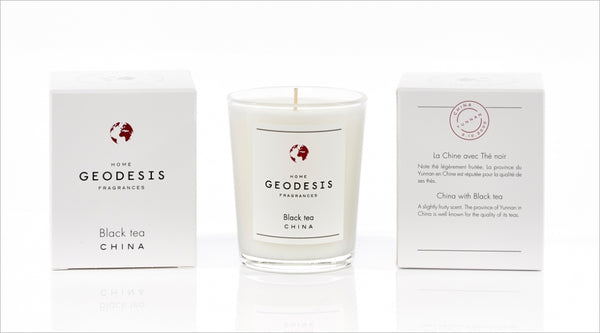 Geodesis Black Tea Scented Candle
