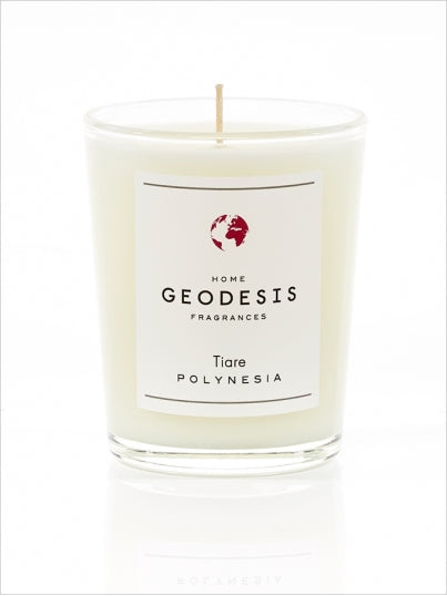 Geodesis Tiare Flowers Scented Candle