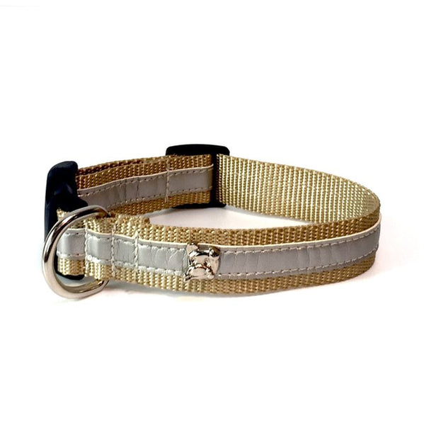 Cabana Silver Metallic Collar