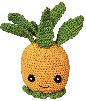 Organic Crochet Pineapple Toy