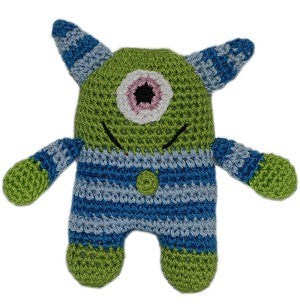 Organic Crochet Monster Toy