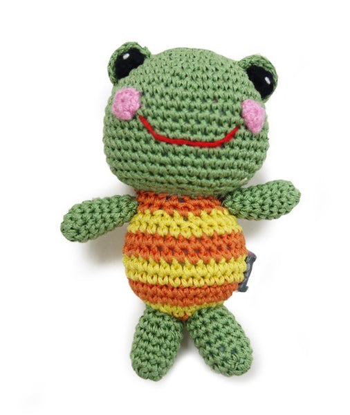 Crochet Frog Doll Toy