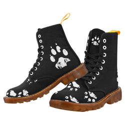 Paw Print - Unique Print Boots For Women