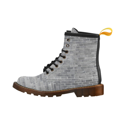 The Wall - Unique Print Boots For Men