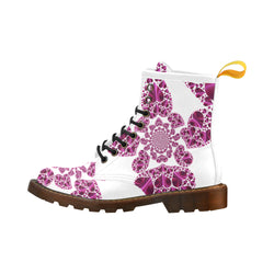 Purple Heart - Unique Print Boots For Women