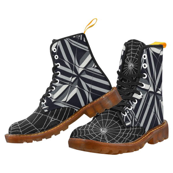 Tile Web - Unique Print Boots For Men