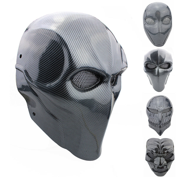 High Quality Fiberglass Gaming Masks