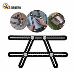 Amenitee Upgraded Aluminum Alloy Multi Functional Angle Template