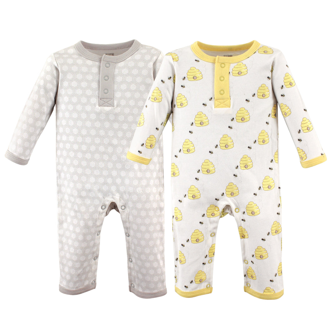 2-PK Union Suit (Bumble Bees)